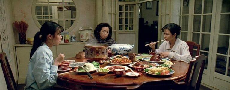 飲食男女 (1994) - 三姊妹同桌的日常菜色