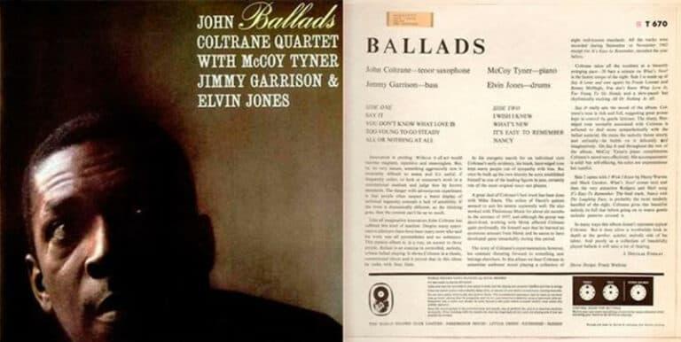 John Coltrane - Ballads (John Coltrane Quartet)