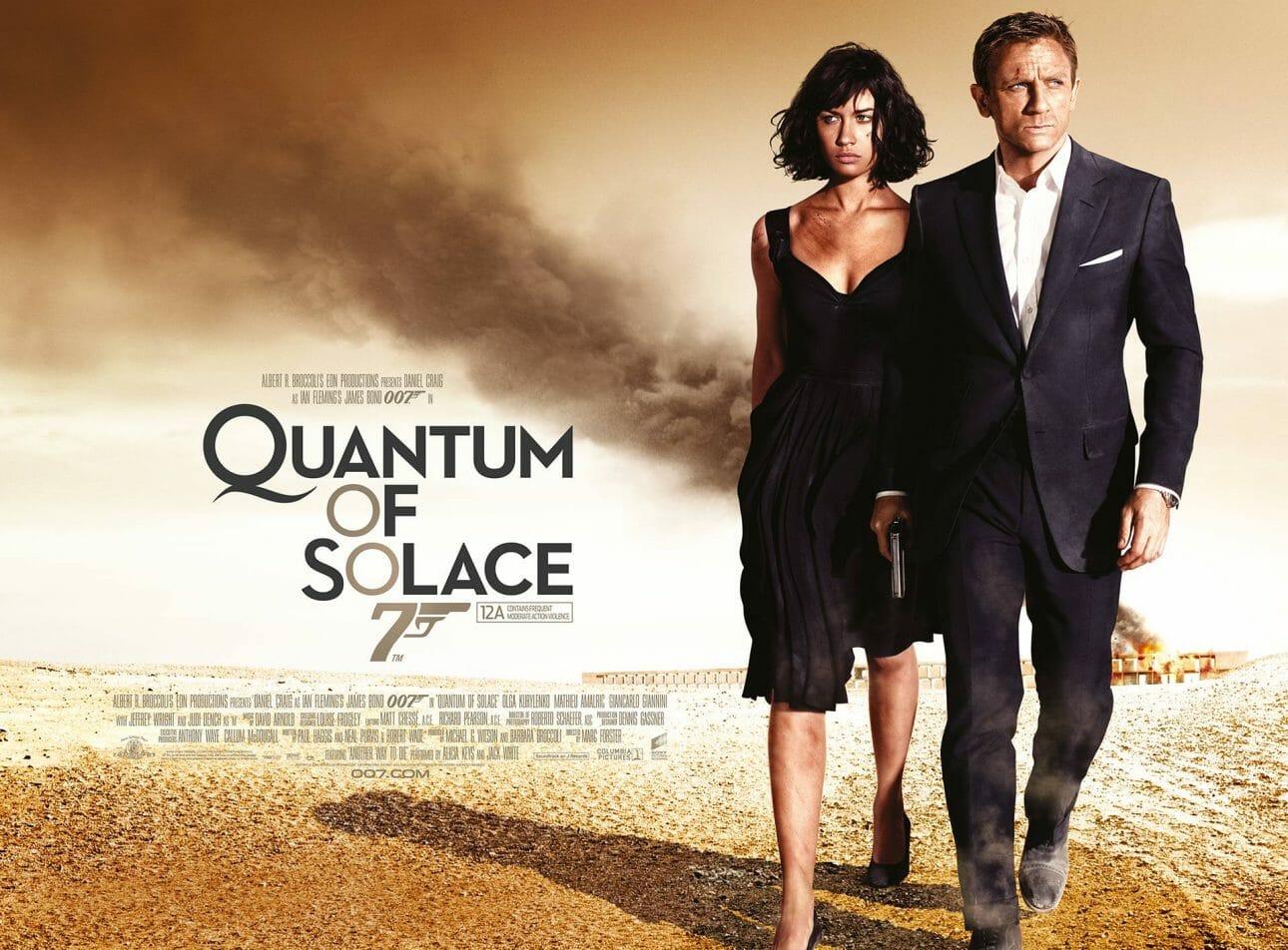 Daniel Craig 丹尼爾克雷格 - 007 系列電影 - 《007 量子危機》(2008)